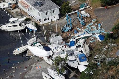 Những cơn bão lớn tàn phá thế giới