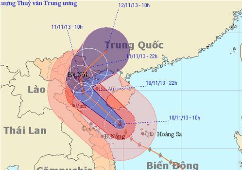 Miền Bắc khẩn trương chống bão Haiyan