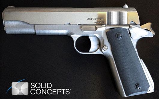 Cận cảnh khẩu súng 'xịn' từ máy in 3D đầu tiên trên thế giới
