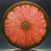 """Nghệ thuật vẽ tranh hoa quả """"cắt lát"""" y hệt ảnh chụp"""