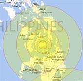 Philippines: Động đất ở vùng chịu bão Haiyan