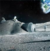 Châu Âu xây căn cứ trên Mặt Trăng