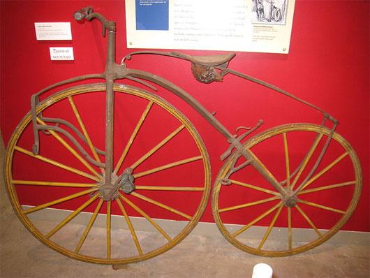 Lịch sử phát triển xe đạp