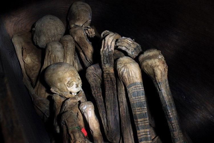 Kỳ bí tục ướp xác có một không hai ở Philippines