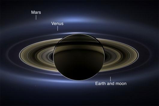 NASA công bố bức ảnh toàn cảnh chụp sao Thổ