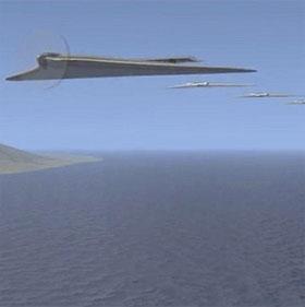 Mỹ phát triển siêu máy bay biến hình, không người lái