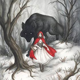 """Phát hiện nguồn gốc câu chuyện """"Cô bé quàng khăn đỏ"""""""