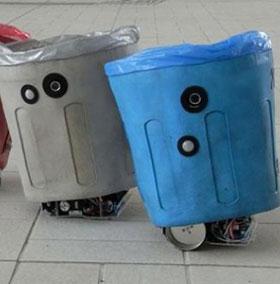 Robot thùng rác