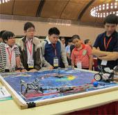 Việt Nam tham dự cuộc thi robot quốc tế