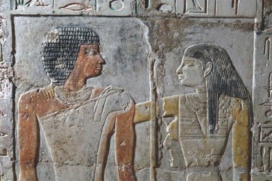 """Hé lộ chuyện """"yêu"""" của người Ai Cập cổ đại"""