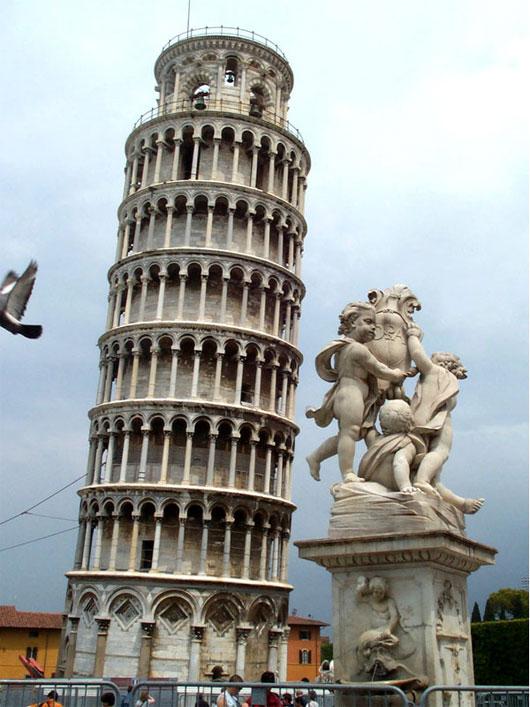 Có nhiều khả năng là Pisa mỗi năm sẽ mỗi nghiêng hơn cho đến khi sụp đổ trong khoảng 300 năm tới.