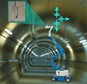 EU phát triển robot chuyên kiểm tra đường hầm