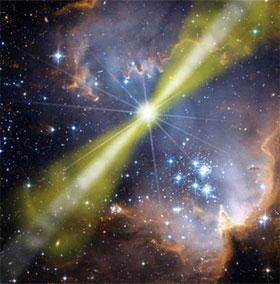 Phát hiện vụ nổ tia gamma lớn nhất từ trước đến nay