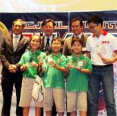 Việt Nam vô địch cuộc thi Robotics quốc tế hạng nhi đồng