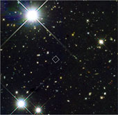 Bộ ba thiên hà thời Hừng đông vũ trụ