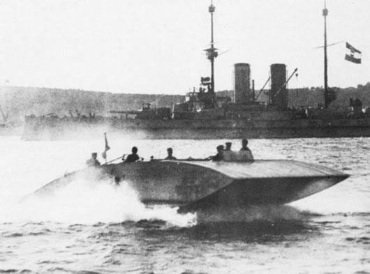 Lịch sử 300 năm của tàu đệm khí hovercraft