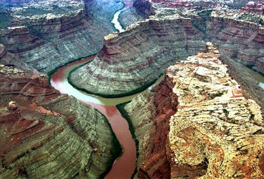 Sông Xanh và sông Colorado, Utah, Mỹ