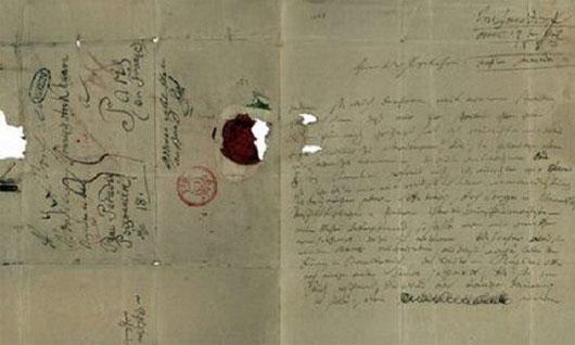 Trích đoạn những bức thư tình xúc động nhất mọi thời đại