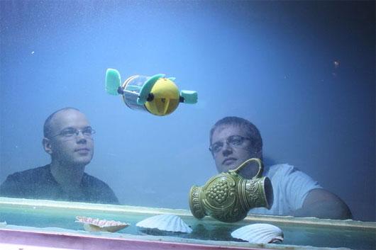 Robot giúp nghiên cứu tàu đắm
