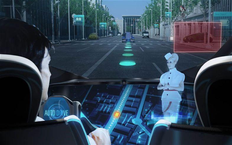 Mô tả cách thức điều khiển trong chiếc xe