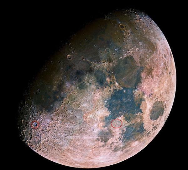 Cho em hỏi trên mặt trăng có cái gì vậy?