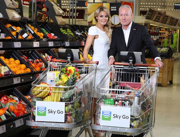 Xe mua hàng trong siêu thị