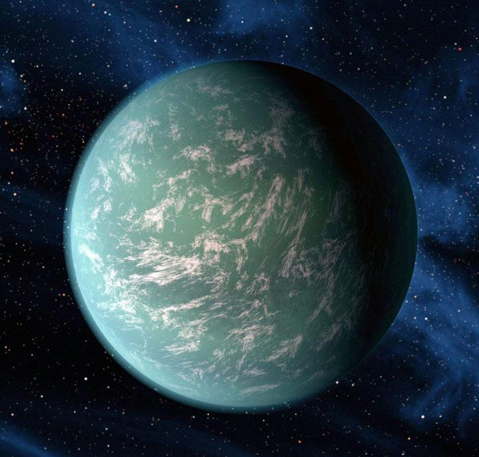 Kepler-22b nằm cách trái đất 600 năm ánh sáng. H