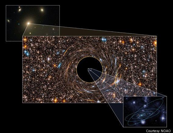 Phát hiện hố đen lớn nhất từ trước tới nay