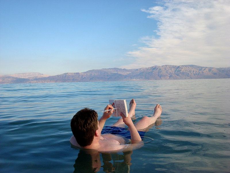 """Biển Chết từng """"chết"""" một lần"""
