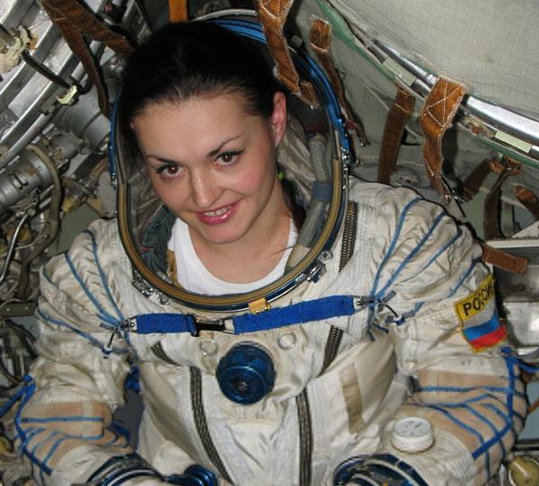 Nữ phi hành gia đầu tiên của Nga lên ISS