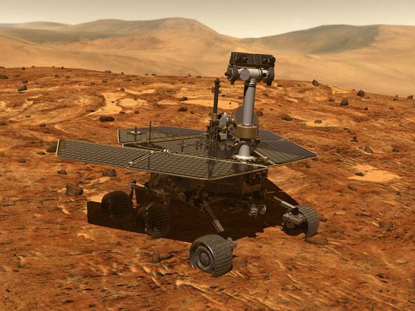 Robot thám hiểm Sao Hỏa phát hiện ra khoáng chất