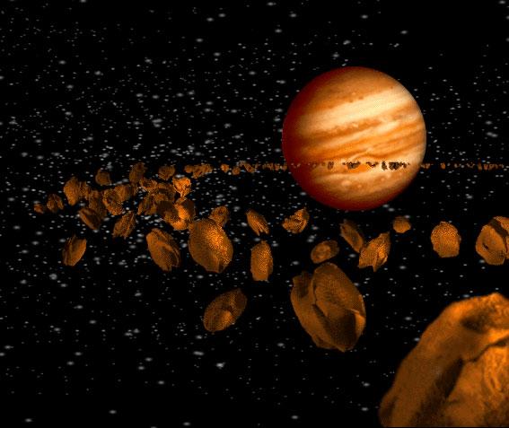 Hàng ngàn tiểu hành tinh đang đe doạ Trái Đất