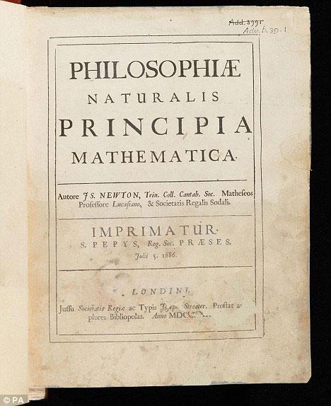 4.000 trang bản thảo viết tay của Newton đã được xuất bản trên trang web của thư viện trường ĐH Cambridge.
