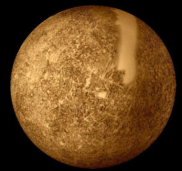 Sao Thủy từng va chạm với tiểu hành tinh cỡ lớn?