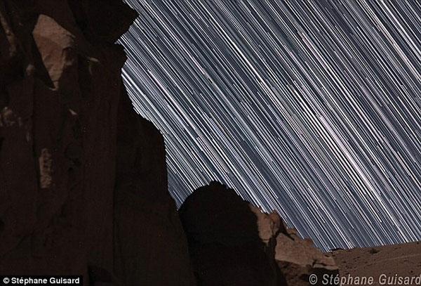 Hình ảnh: Chiêm ngưỡng sự chuyển dịch của sao đêm ở sa mạc Atacama