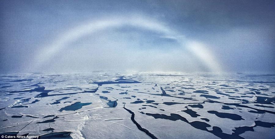 Hiện tượng cầu vồng sương cực hiếm