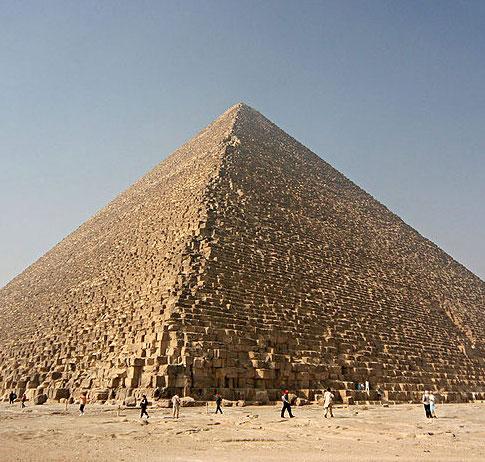 Sáng tỏ bí ẩn của kim tự tháp lớn nhất ở Ai Cập