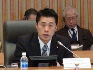 Bộ trưởng Goshi Hosono