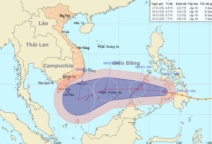 50 người chết vì bão ở Philippines