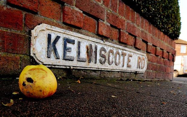 Mưa táo tại Anh