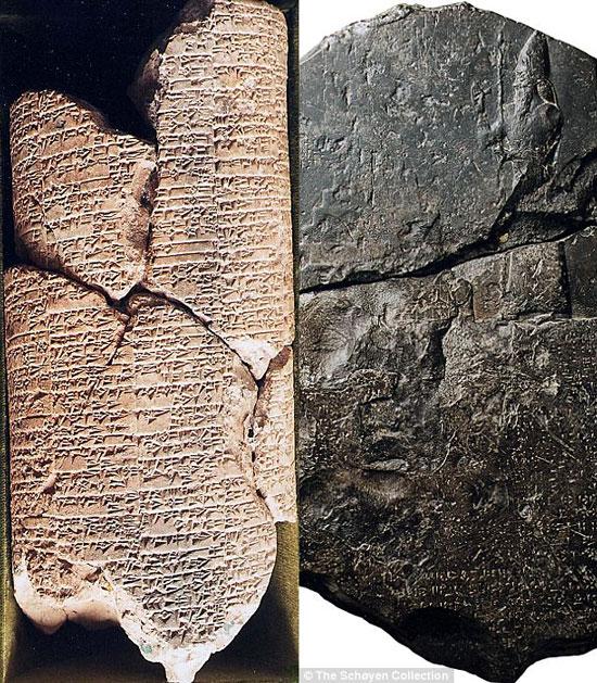 Tìm thấy văn bản pháp luật 5.000 tuổi khắc trên đá