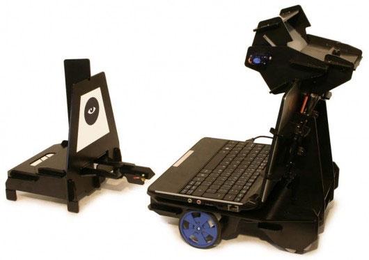 Tích hợp netbook lên robot