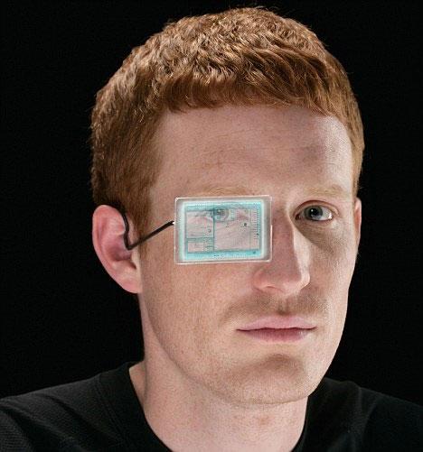 Google sắp ra máy tính đeo mắt