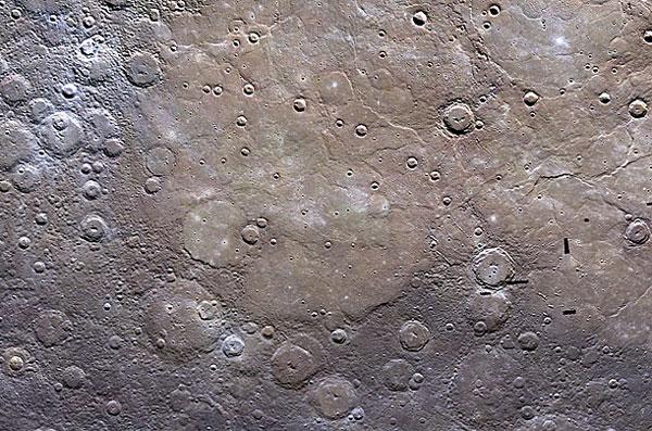 Bức ảnh chụp vùng đồng bằng sao Thủy, được công bố vào ngày 16/6/2011.
