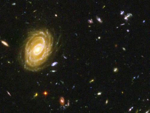 """Thiên hà có tốc độ """"sản sinh"""" khủng nhất"""