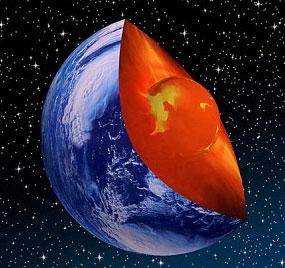 Bí mật về nguyên tố trong lòng Trái đất
