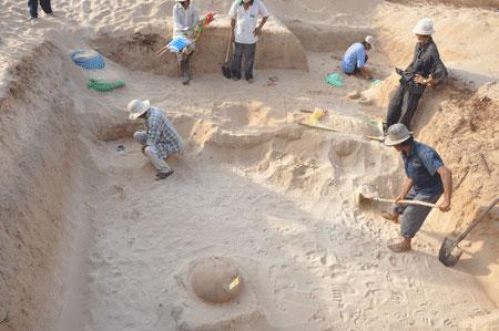 Bình Thuận phát hiện di tích của người Chăm xưa