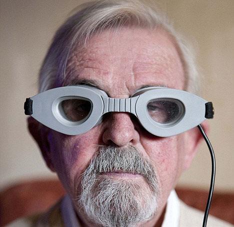 Kính điện điều trị khô mắt