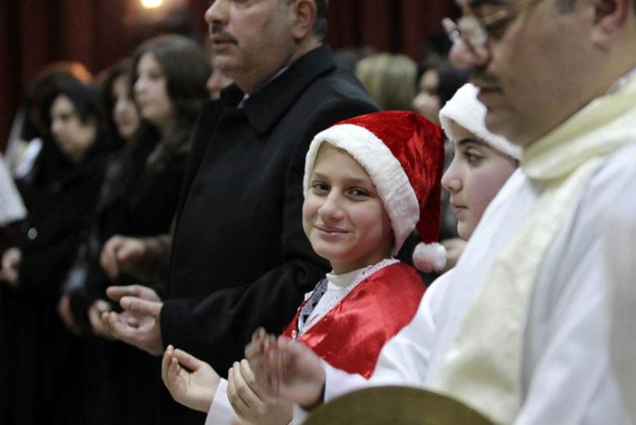 Những bức ảnh đẹp nhất của ngày Giáng sinh 2011 trên toàn thế giới