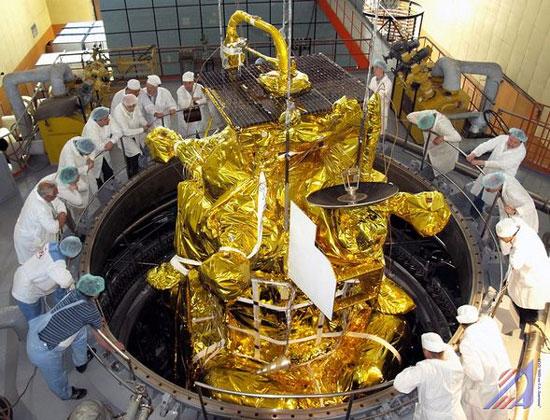 Tàu Phobos-Grunt của Nga sẽ rơi xuống Afghanistan
